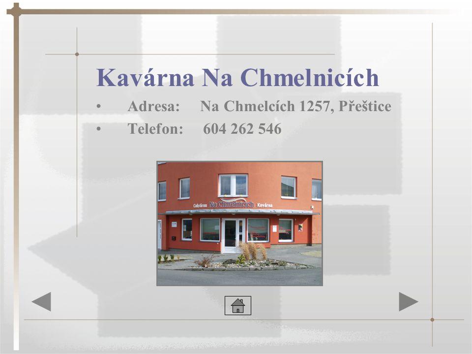 Kavárna Na Chmelnicích