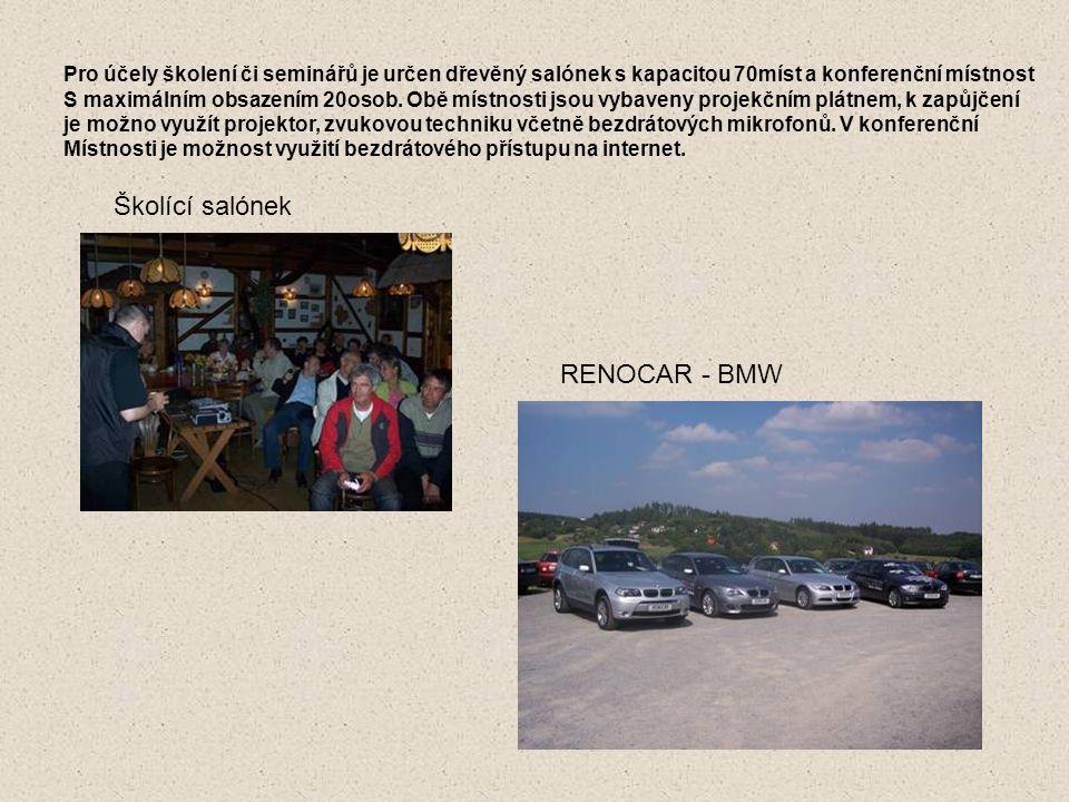 Školící salónek RENOCAR - BMW