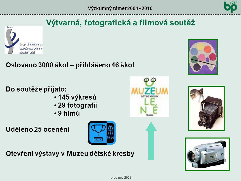 Výtvarná, fotografická a filmová soutěž