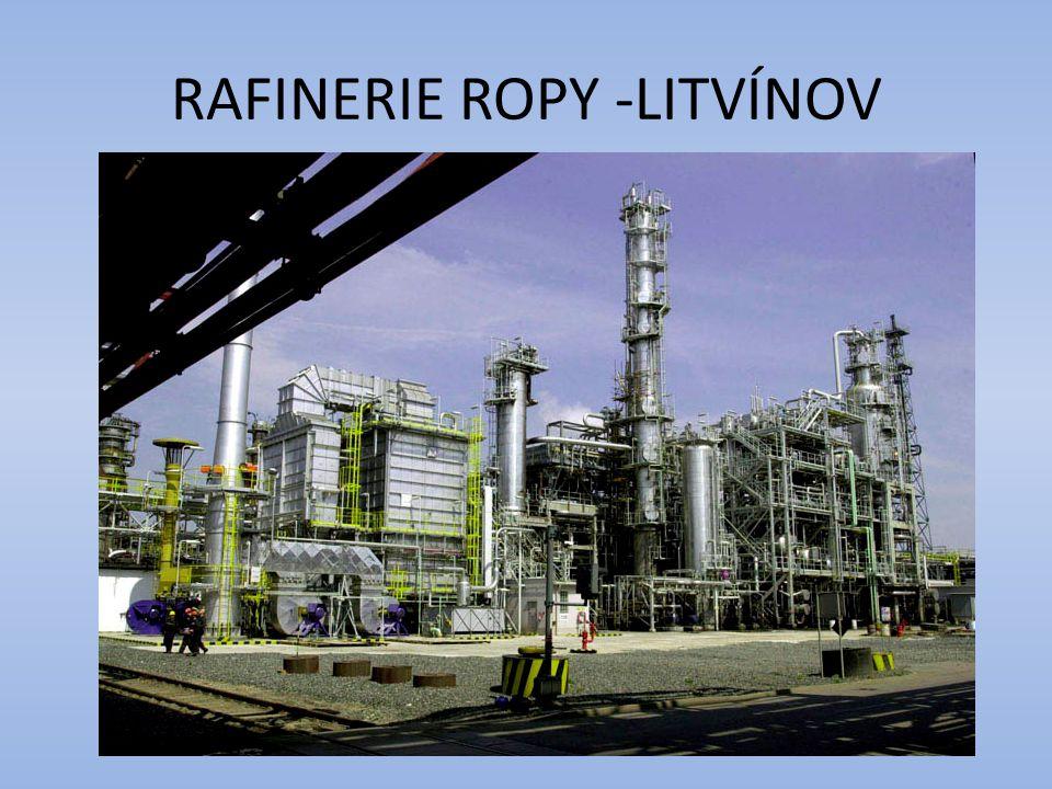 RAFINERIE ROPY -LITVÍNOV