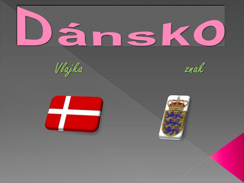 Dánsko Vlajka znak