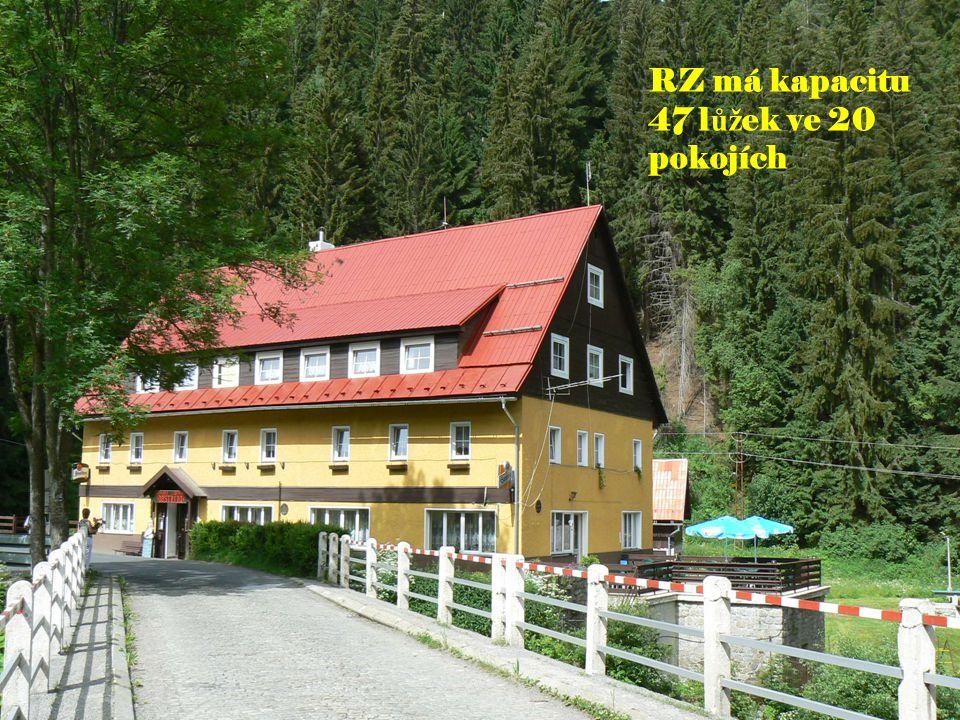 RZ má kapacitu 47 lůžek ve 20 pokojích