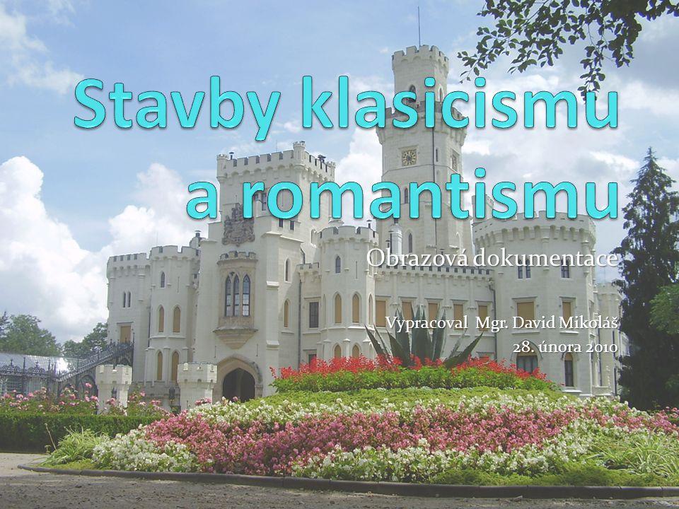 Stavby klasicismu a romantismu