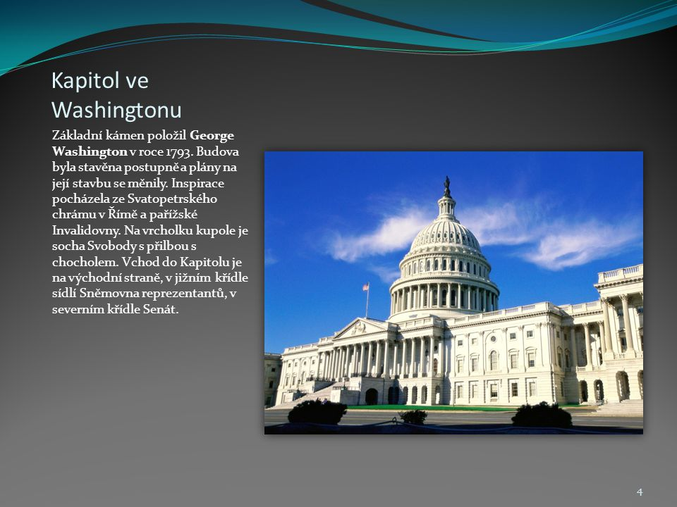 Kapitol ve Washingtonu