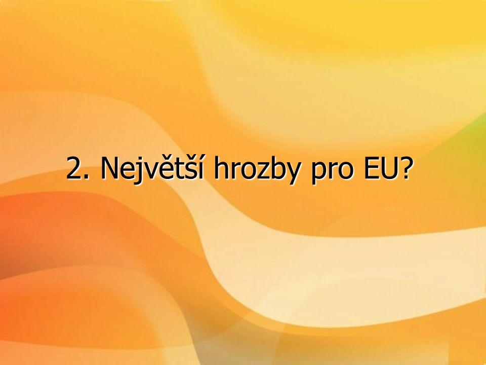 2. Největší hrozby pro EU