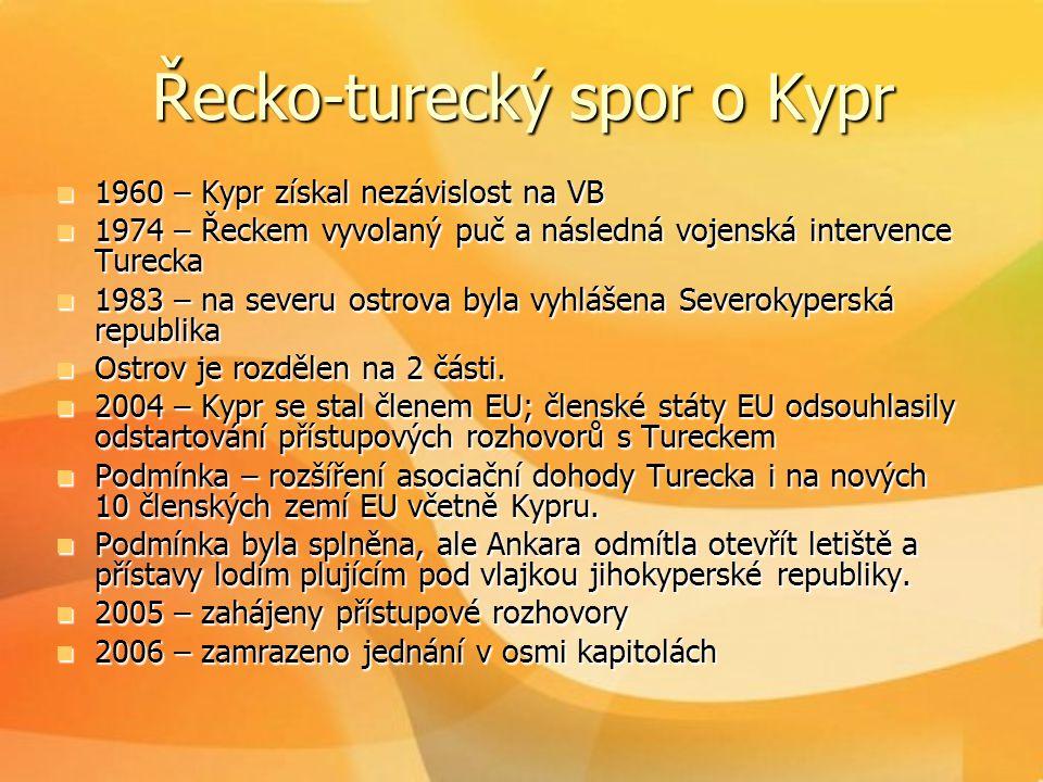 Řecko-turecký spor o Kypr
