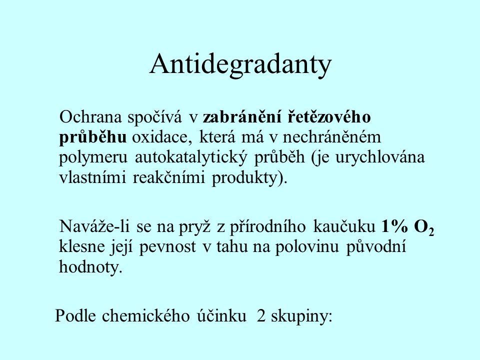 Antidegradanty