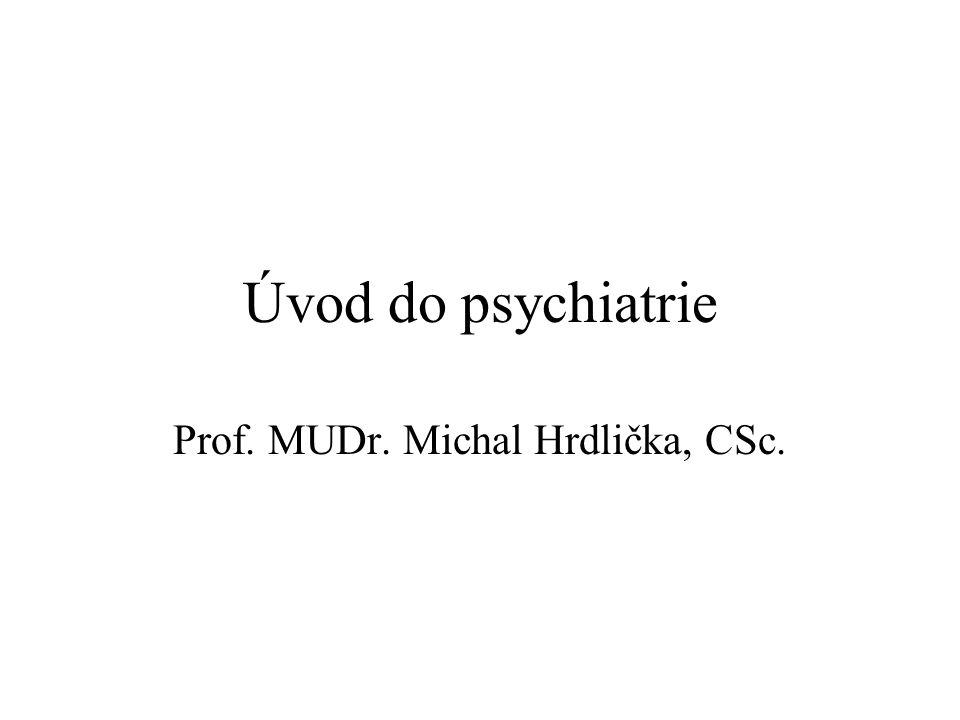 Prof. MUDr. Michal Hrdlička, CSc.