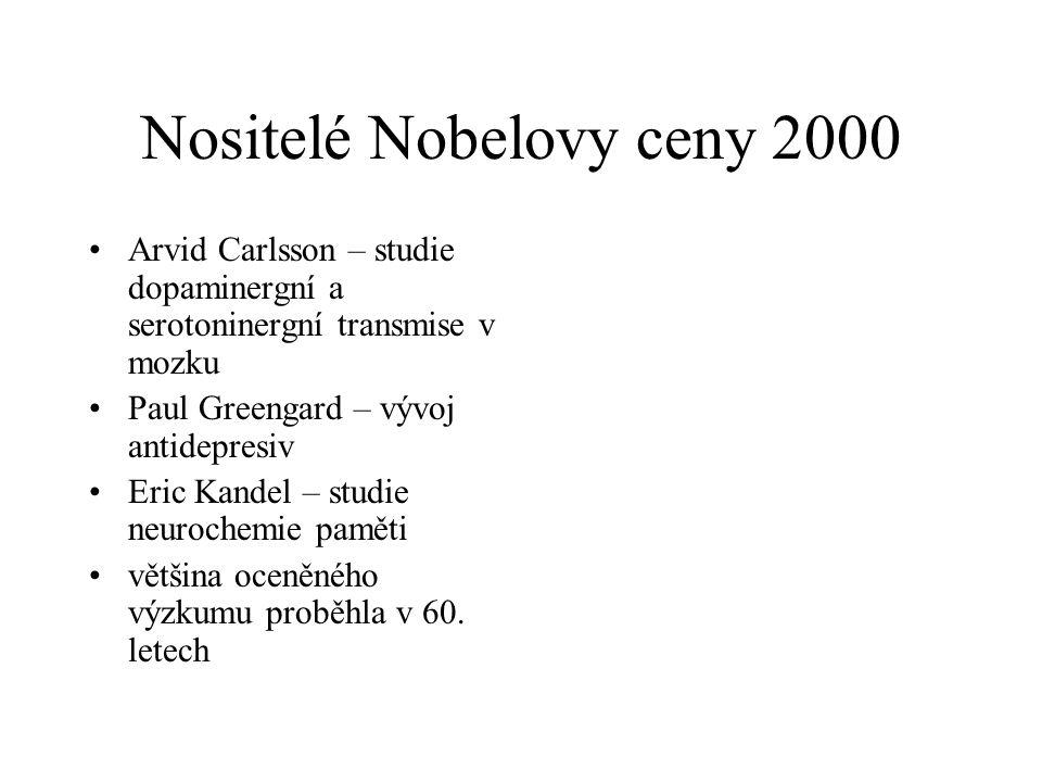 Nositelé Nobelovy ceny 2000