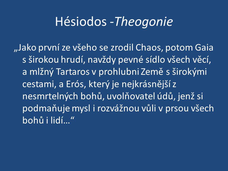 Hésiodos -Theogonie