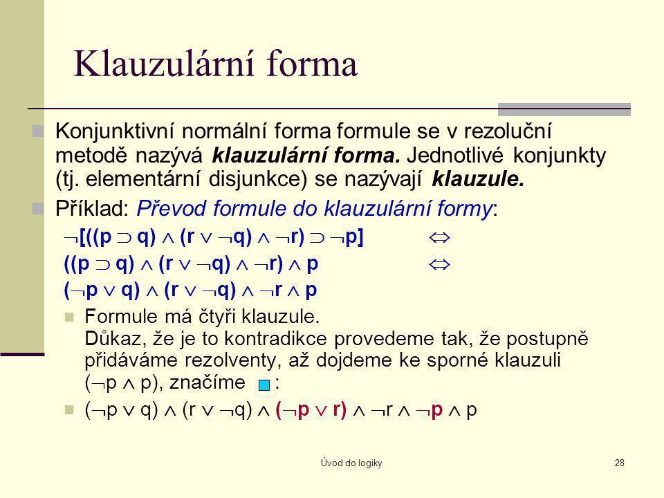 Klauzulární forma
