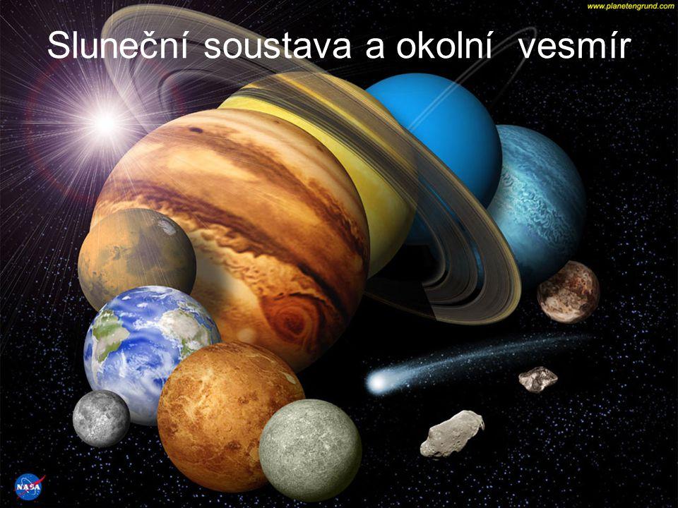 Sluneční soustava a okolní vesmír