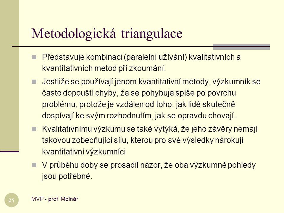 Metodologická triangulace