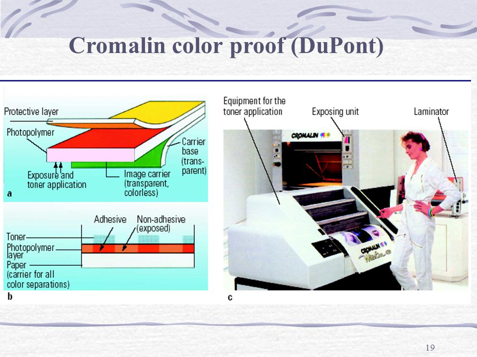 Cromalin color proof (DuPont)