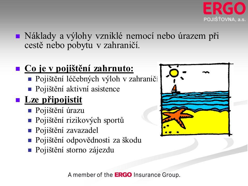 Co je v pojištění zahrnuto: