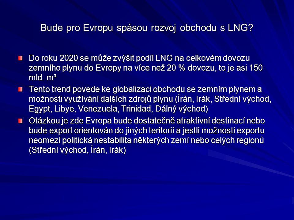 Bude pro Evropu spásou rozvoj obchodu s LNG