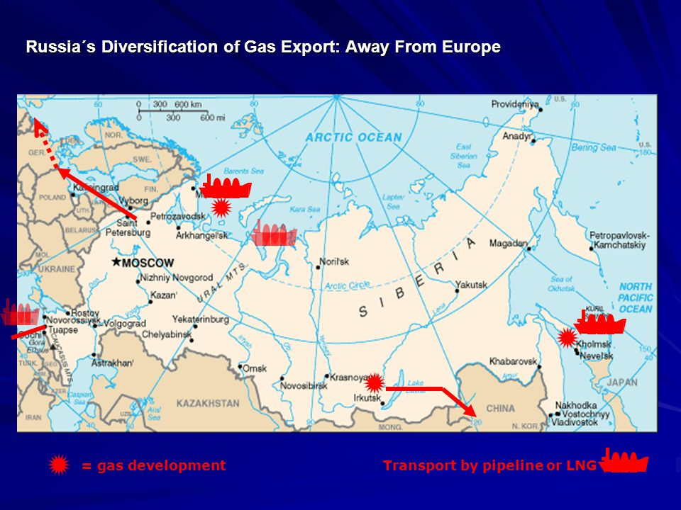 Russia´s Diversification of Gas Export: Away From Europe