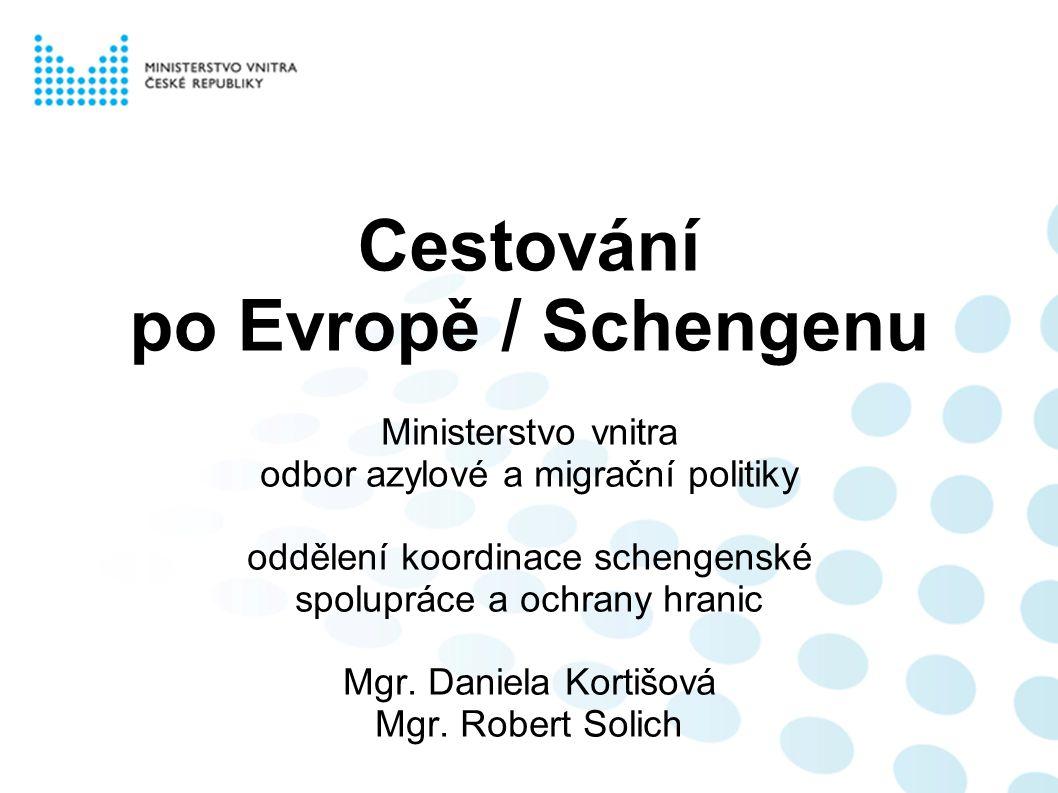 Cestování po Evropě / Schengenu