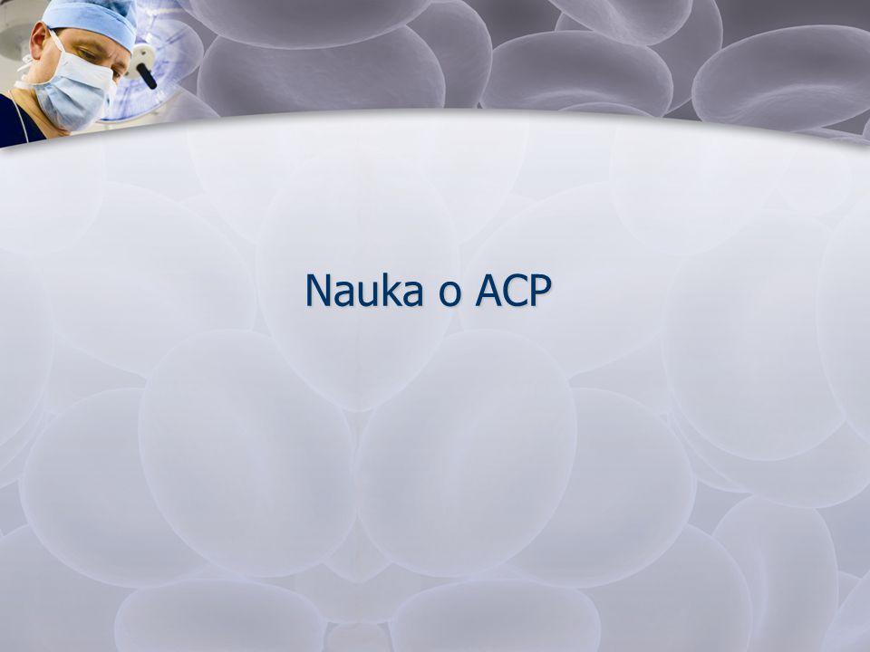 Nauka o ACP
