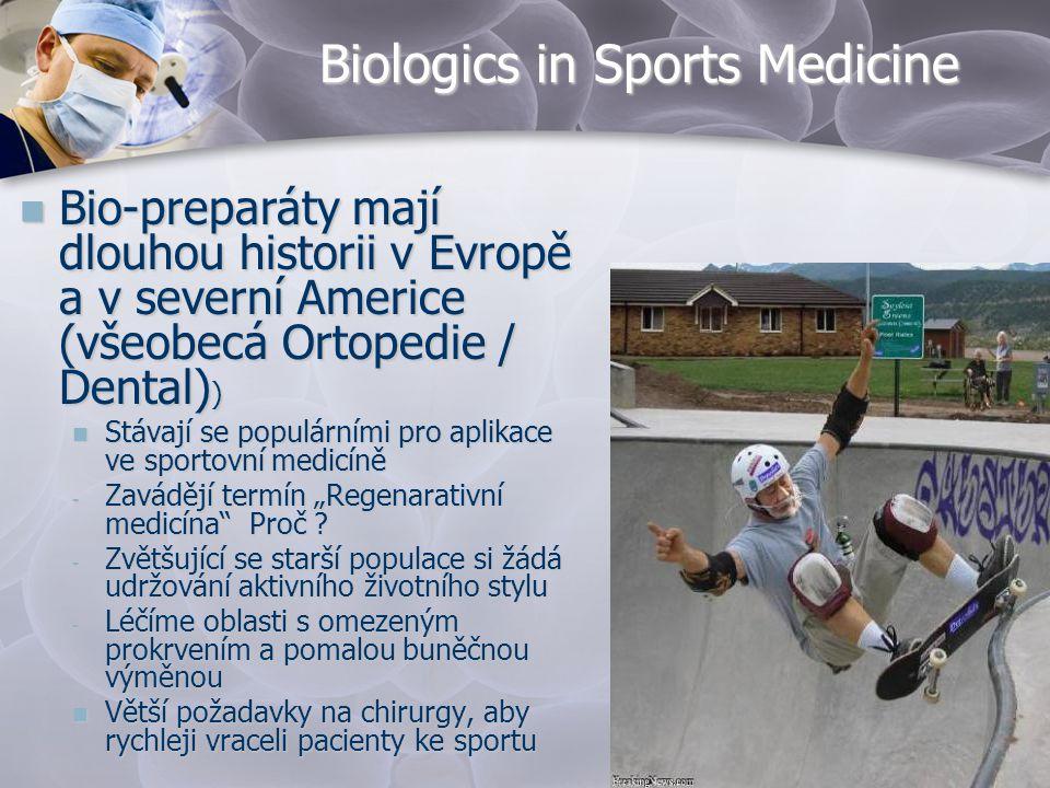 Biologics in Sports Medicine