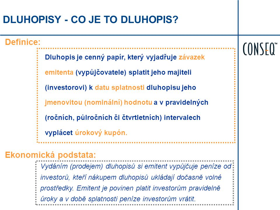 DLUHOPISY - CO JE TO DLUHOPIS