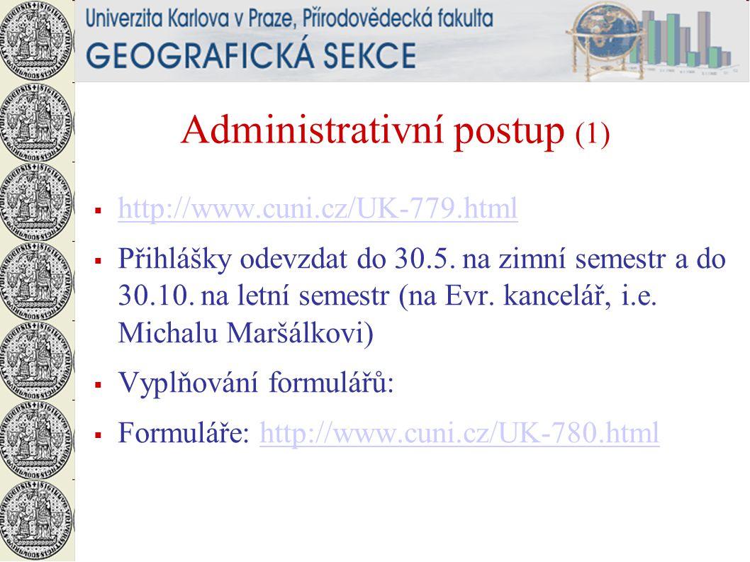 Administrativní postup (1)