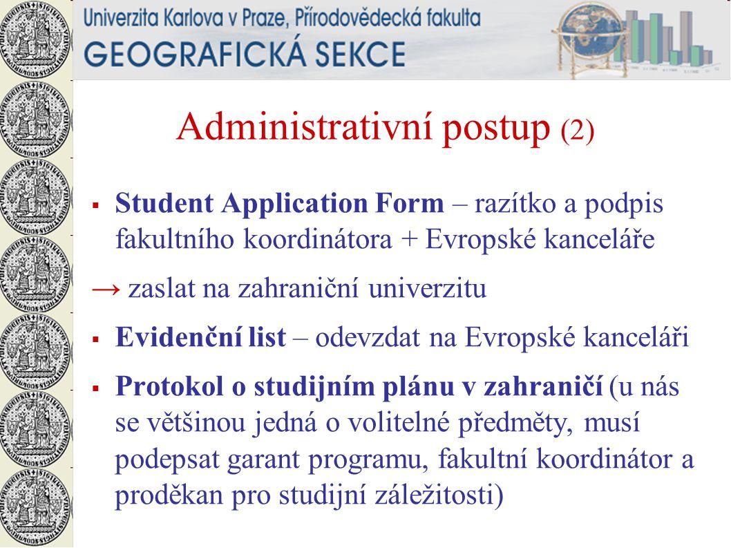 Administrativní postup (2)