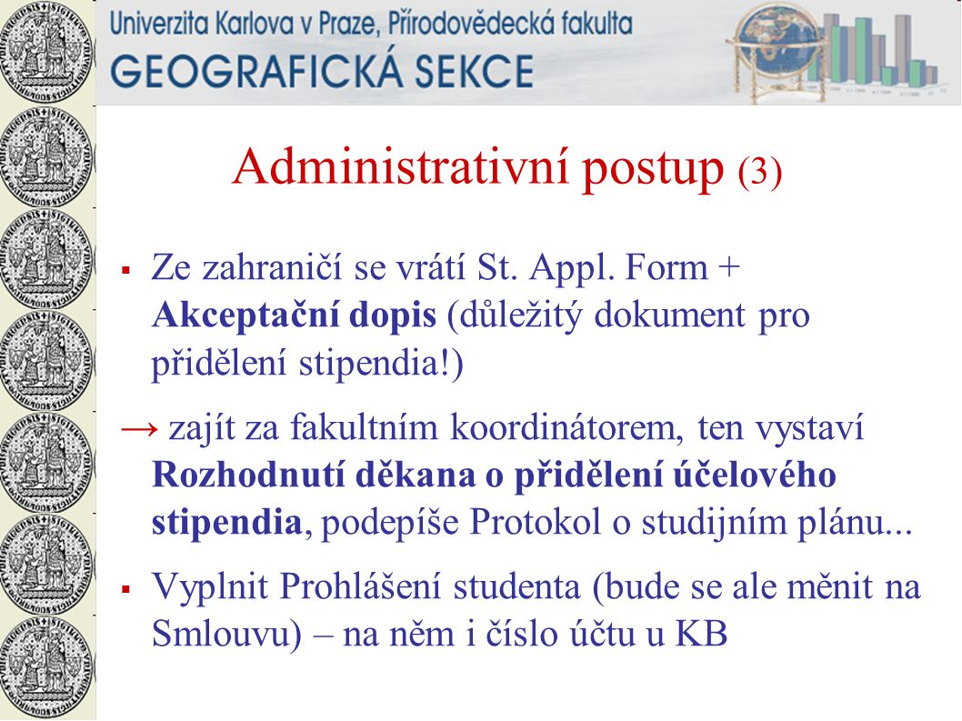 Administrativní postup (3)