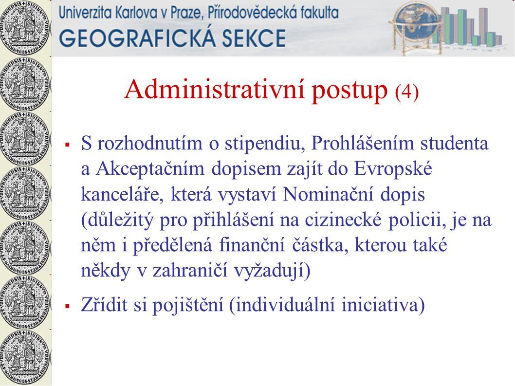Administrativní postup (4)