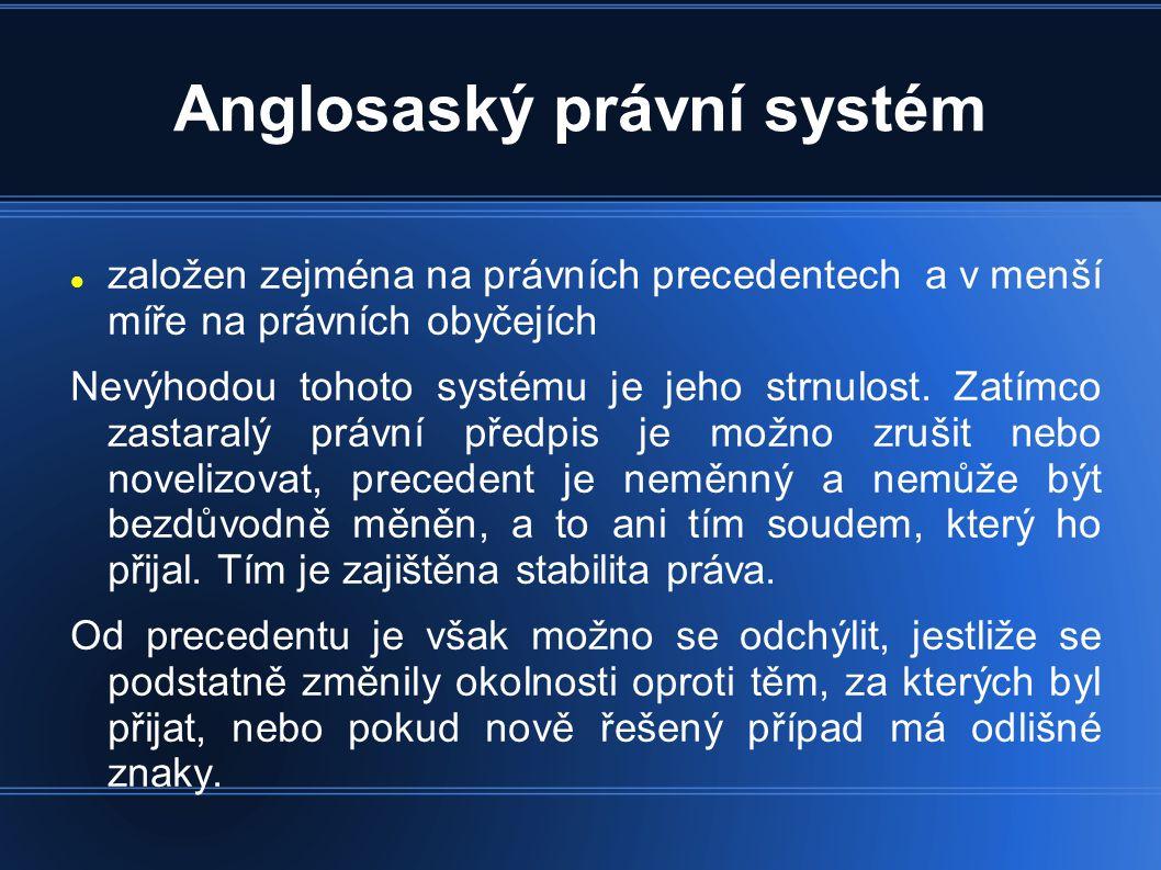 Anglosaský právní systém