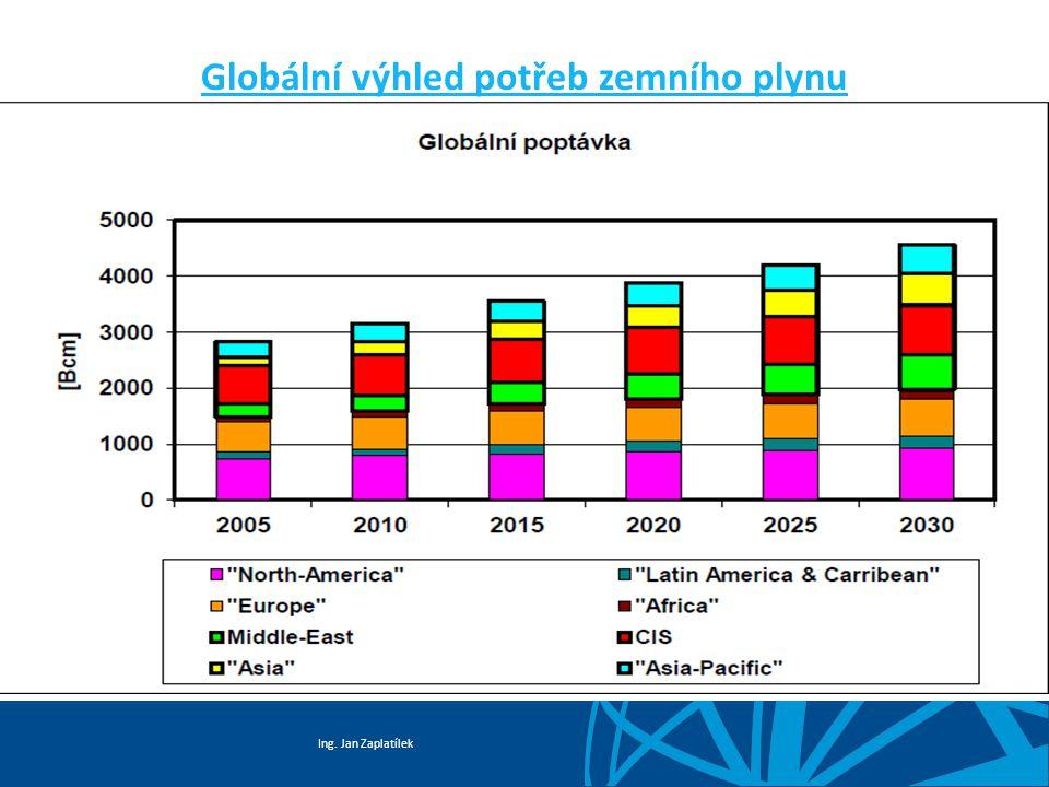 Globální výhled potřeb zemního plynu