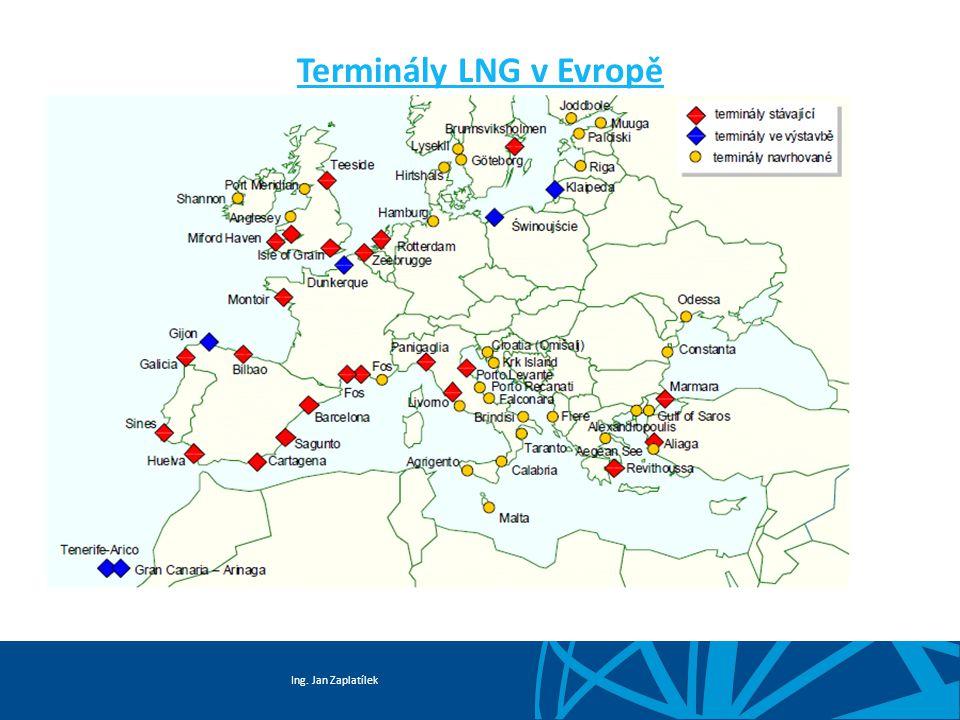 Terminály LNG v Evropě