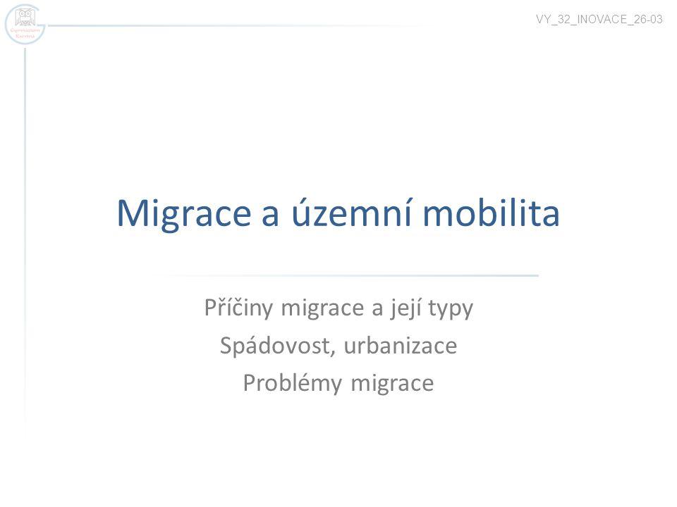 Migrace a územní mobilita