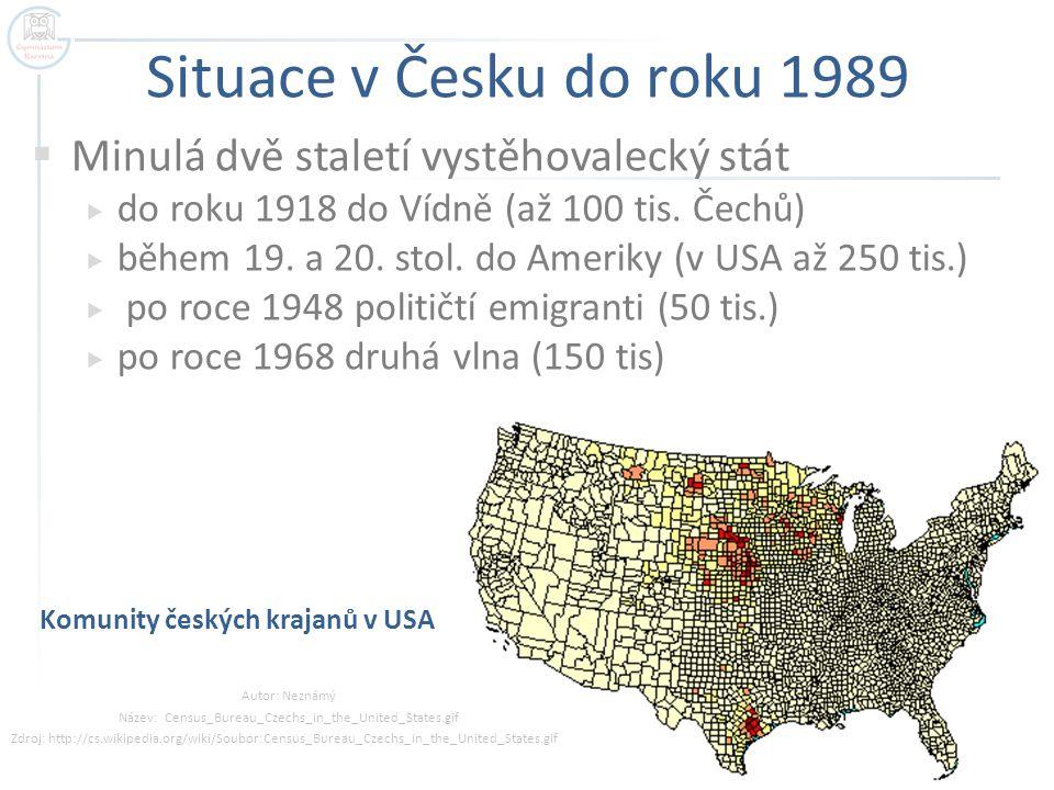 Komunity českých krajanů v USA