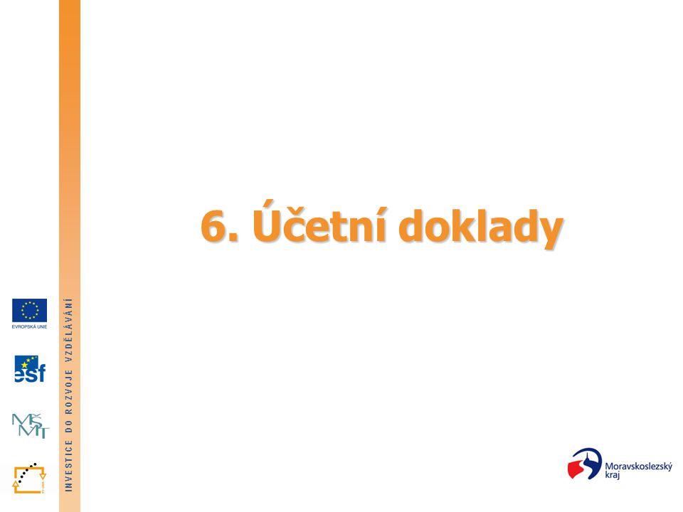 6. Účetní doklady