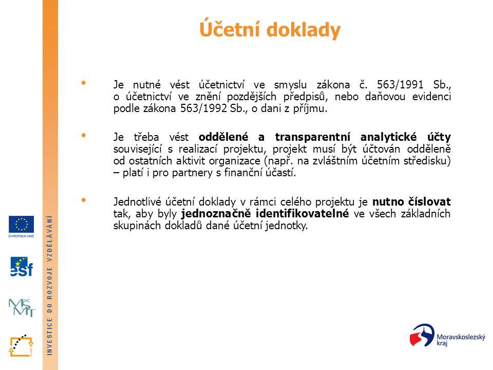 Účetní doklady
