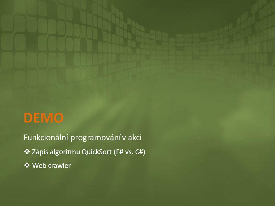Demo Funkcionální programování v akci