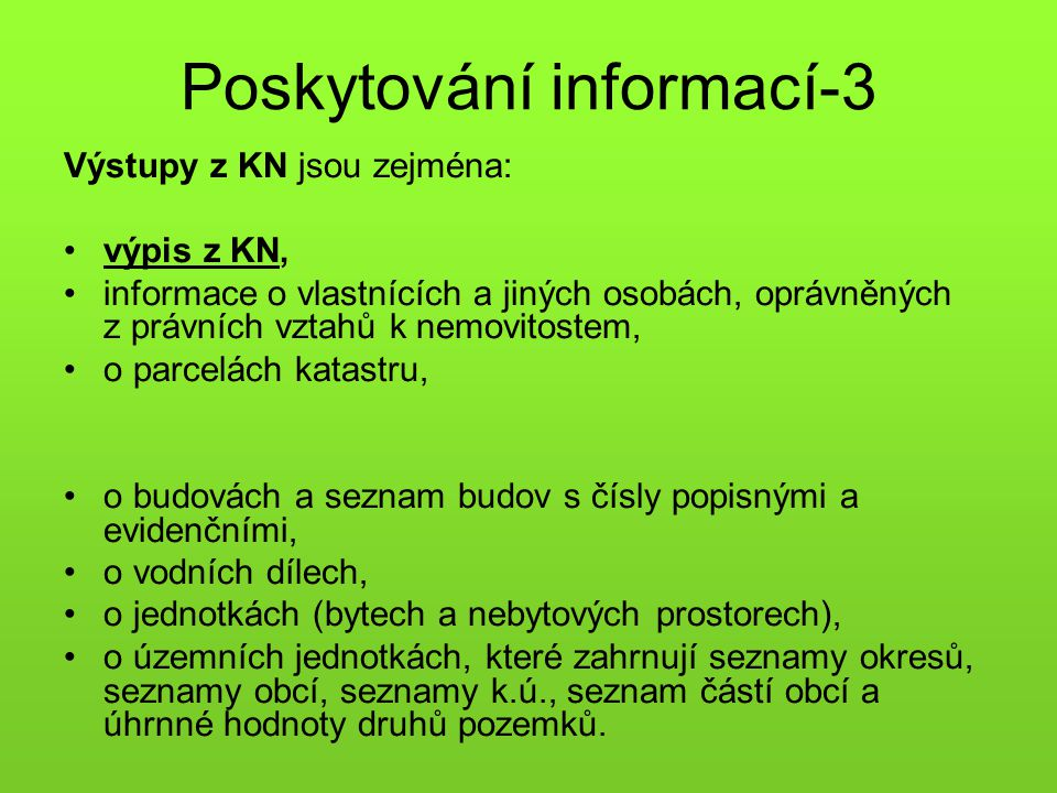 Poskytování informací-3