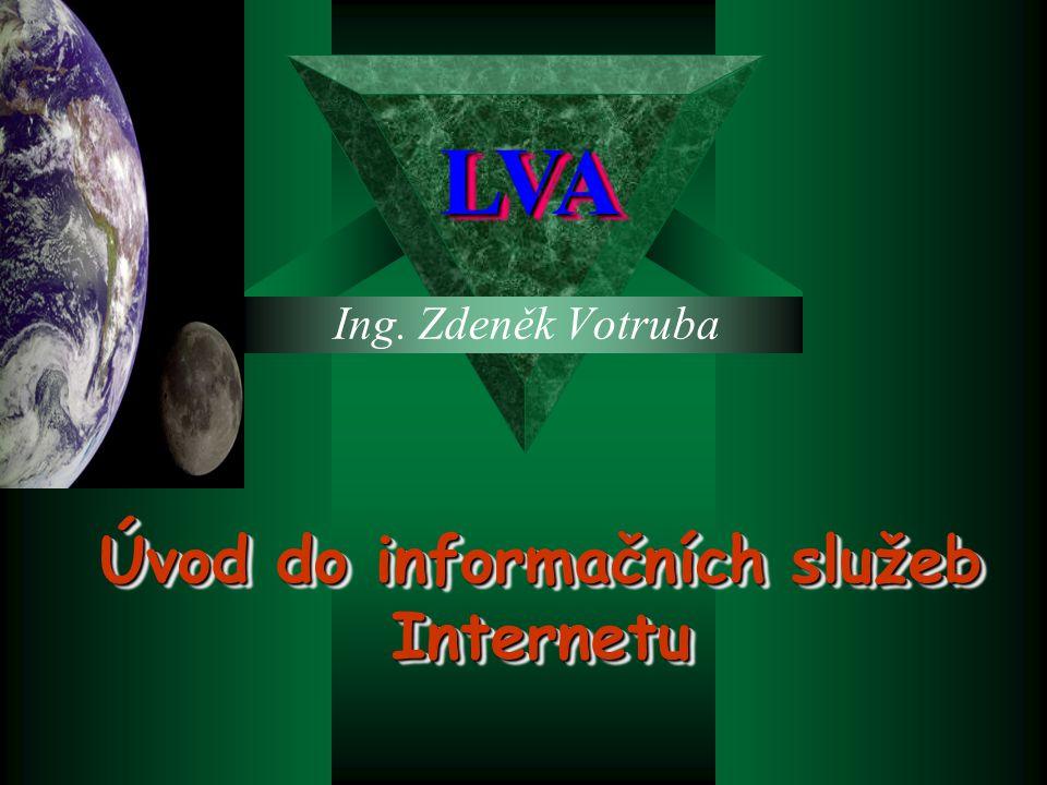Úvod do informačních služeb Internetu
