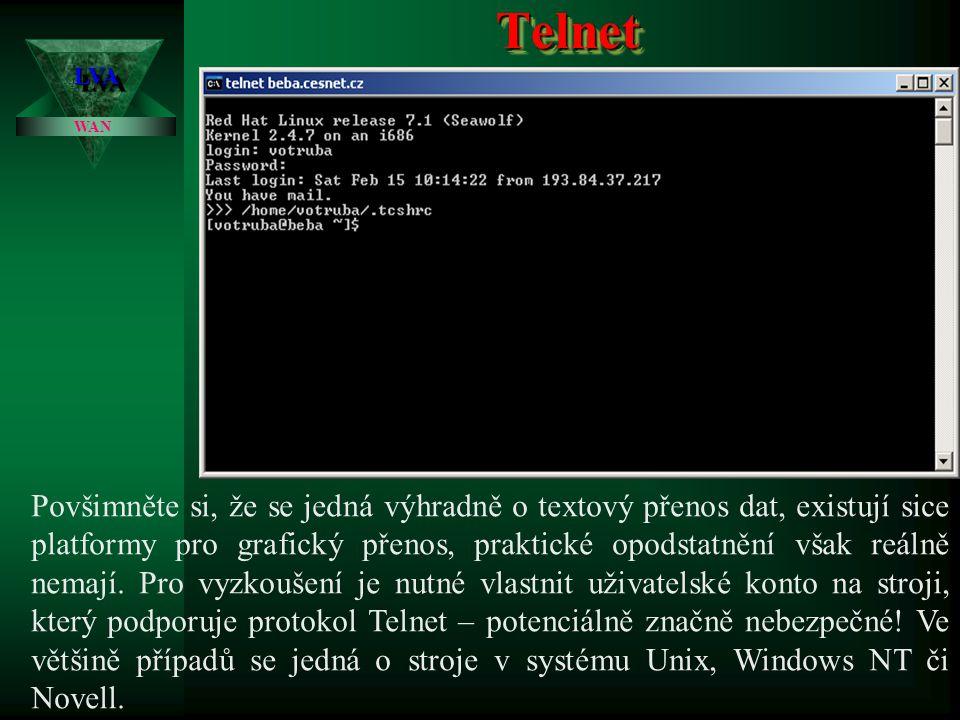 Telnet 3.4.2017. LVA. WAN.