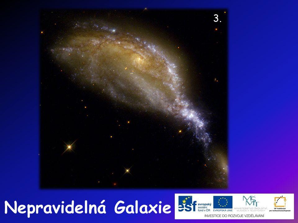 3. Nepravidelná Galaxie