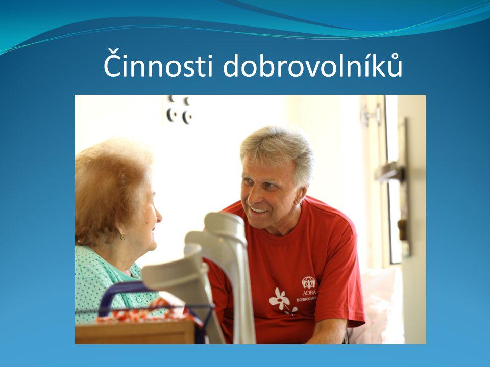 Činnosti dobrovolníků