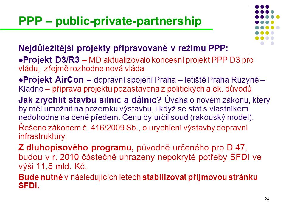 PPP – public-private-partnership