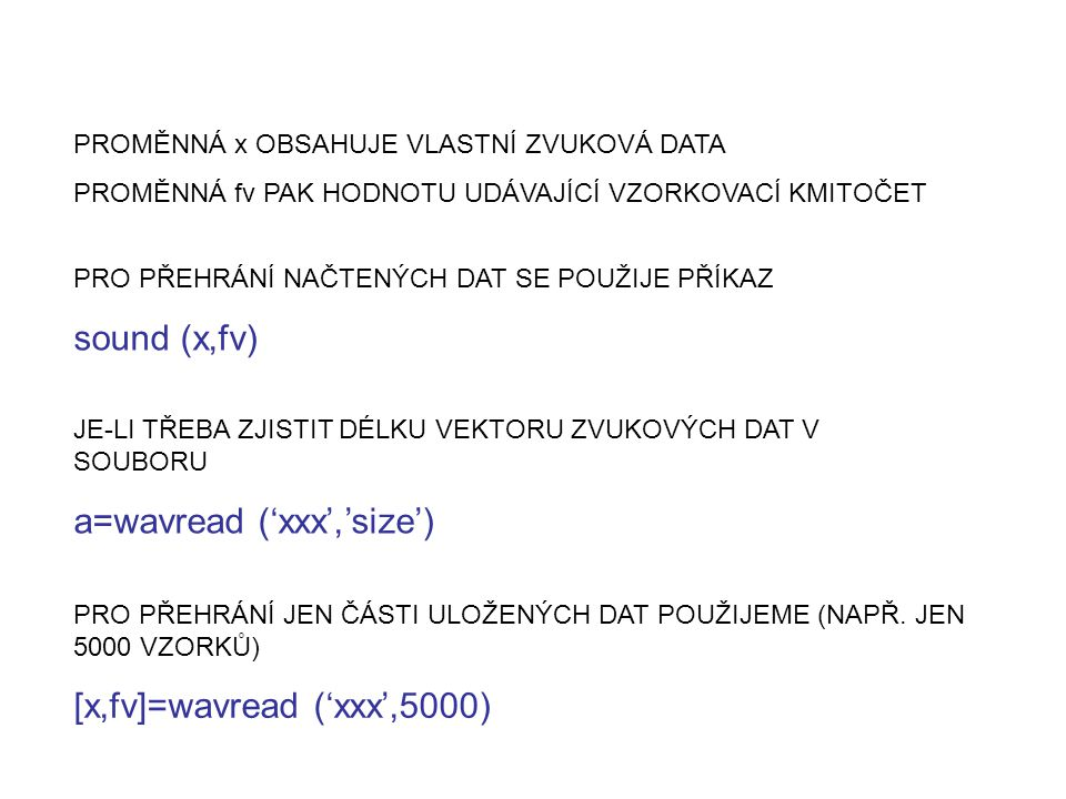 a=wavread ('xxx','size')