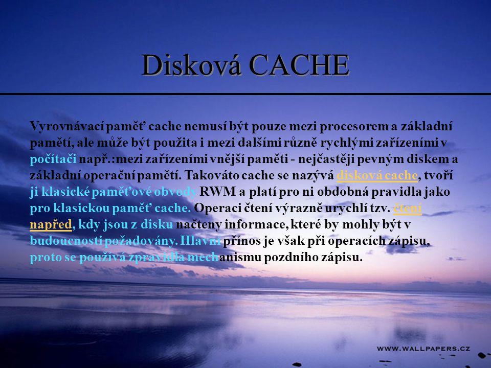 Disková CACHE