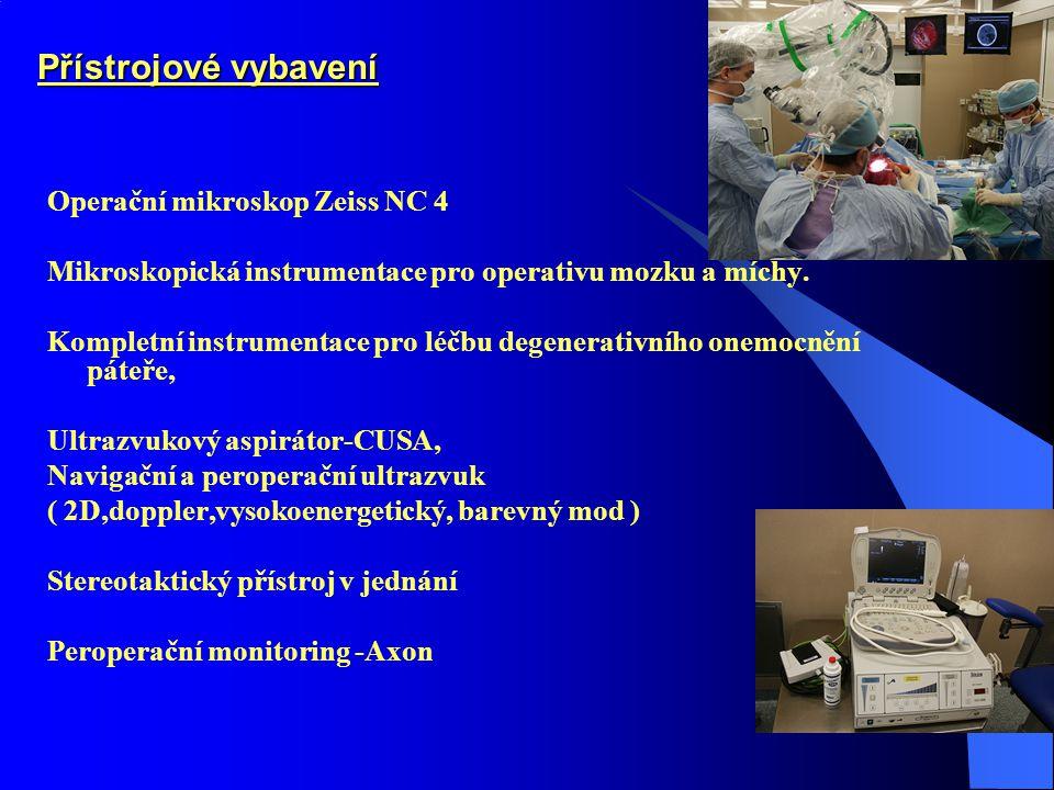 Přístrojové vybavení Operační mikroskop Zeiss NC 4