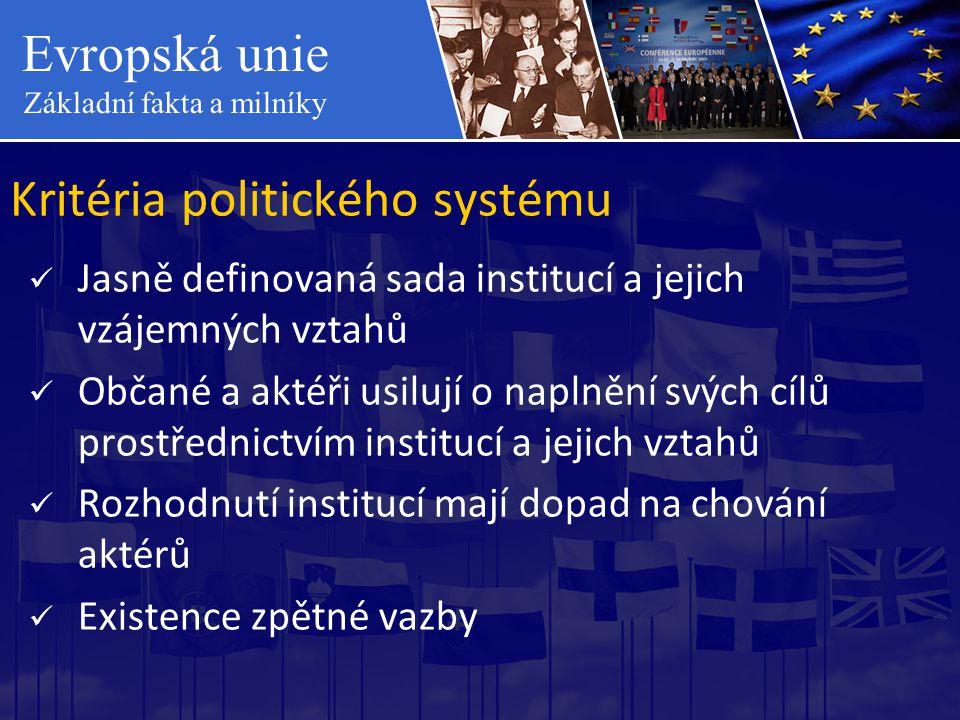 Kritéria politického systému