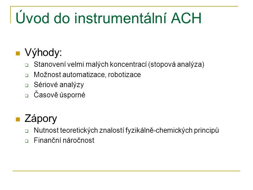 Úvod do instrumentální ACH