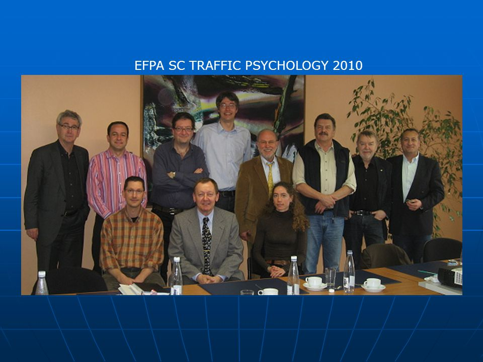 EFPA SC TRAFFIC PSYCHOLOGY 2010