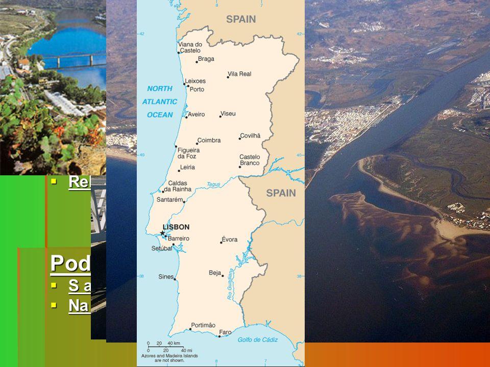 Povrch Souostroví Madeira a Azorské ostrovy leží v tzv. riftové zóně na styku dvou litosférických desek→sopečný původ a větší riziko zemětřesení.